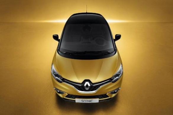 Renault Scenic 2016 foto fata