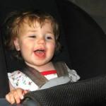 Scaun auto pentru copii simbol