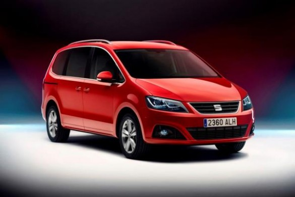 Seat Alhambra 2015 facelift