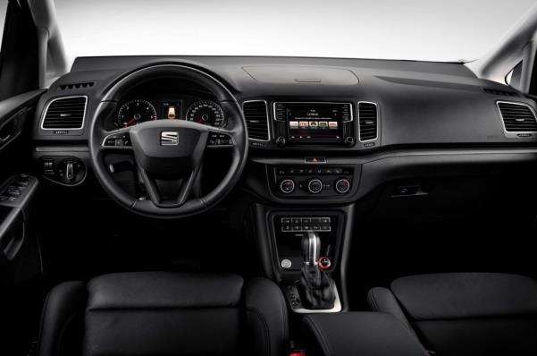 Seat Alhambra 2015 facelift interior