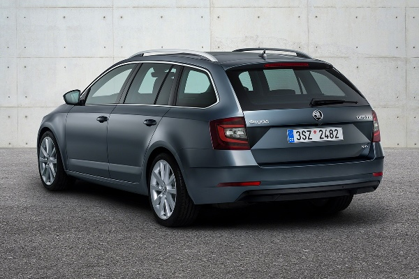 Skoda Octavia 2017 facelift break
