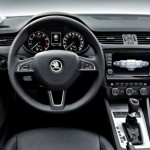 Noua Skoda Octavia Combi 3 interior