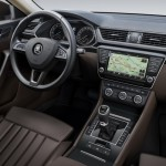 Skoda Superb 3 interior