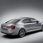 Skoda Superb 3 lateral