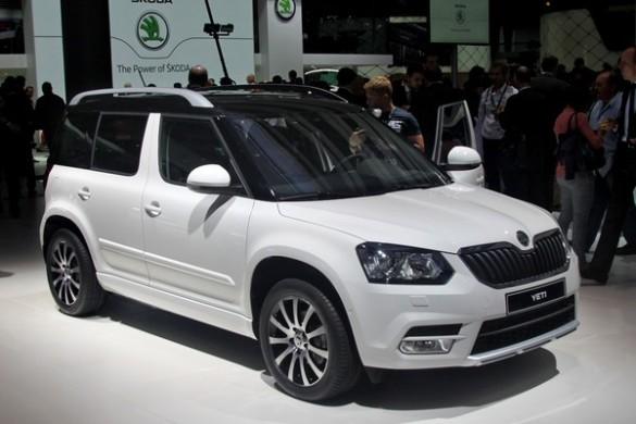 Skoda Yeti 2013 facelift
