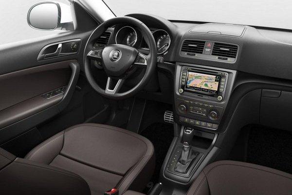 Skoda Yeti 2013 facelift interior