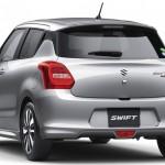 Suzuki Swift 2017 spate