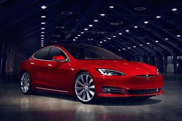 Tesla Model S 2016 facelift