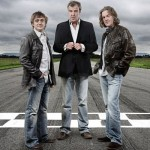 Richard Hammond, Jeremy Clarkson and James May - imagine BBC