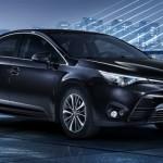 Toyota Avensis 2015 facelift fata