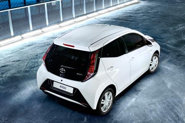 Toyota Aygo 2014 spate