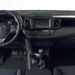 Toyota RAV4 2015 facelift interior