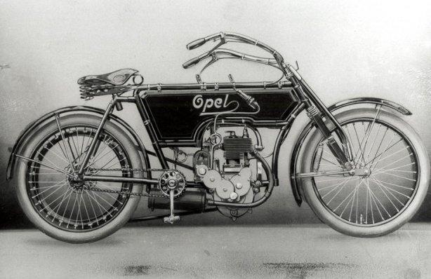 Istoria Opel Un fel de Motobike Opel