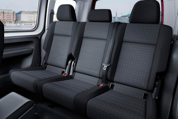 VW Caddy 2015 interior spate