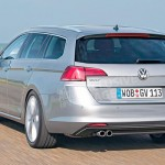 VW Golf 8 Variant schite foto photo