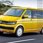 VW Multivan T6 2015 desen Auto Bild