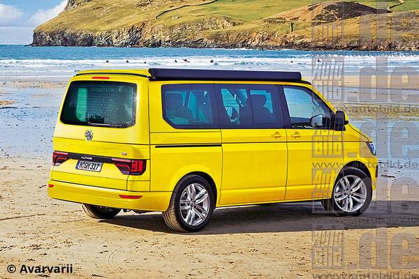 VW Multivan T6 2015 spate
