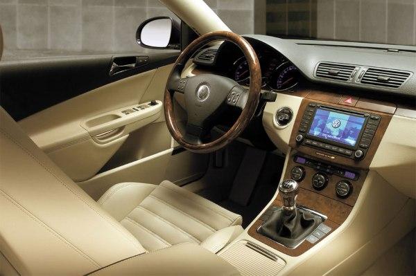 VW Passat B6 interior