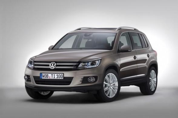 VW Tiguan 2015 faruri frontale