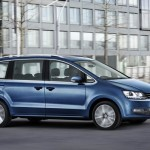 Volkswagen Sharan facelift 2015 lateral