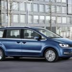 Volkswagen Sharan facelift 2015 lateral