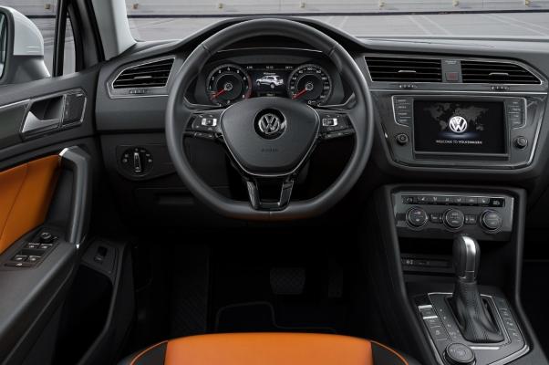 Volkswagen Tiguan 2 interior 2015