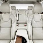 Volvo S90 foto interior spate