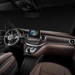 noul Mercedes V Class 2014 interior