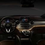 noul Mercedes V Class 2014 interior 2