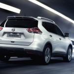 noul Nissan X-Trail spate