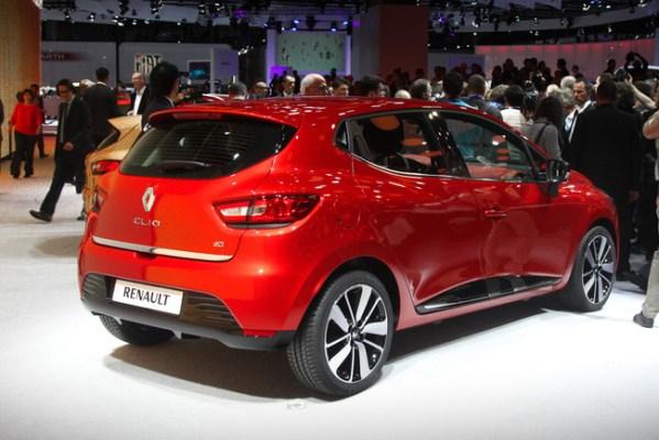 noul Renault Clio spate