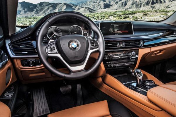 noul X6 2014 interior